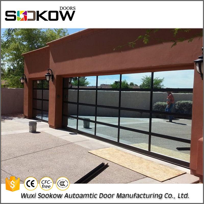 Güvenlik havai alüminyum cam garaj kapı fiyatları corporation