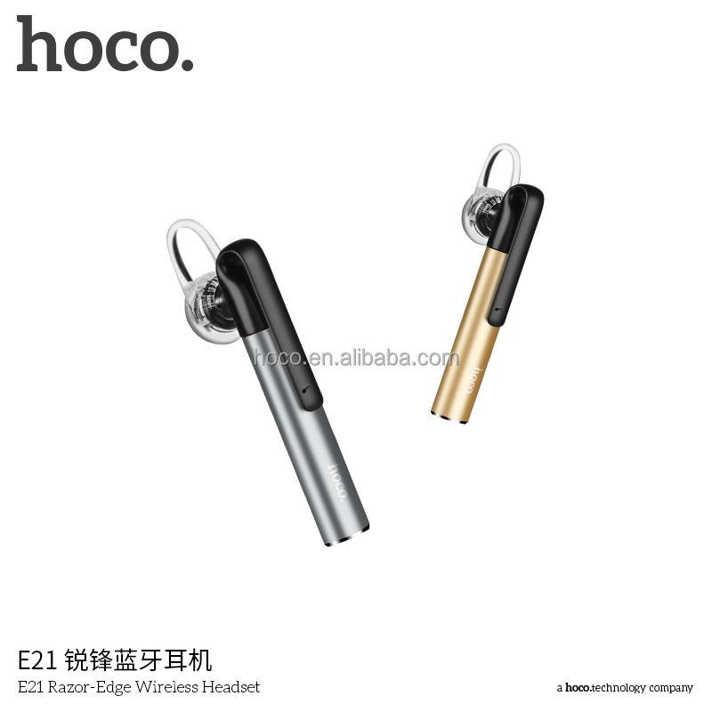 HOCO E21 Stifthalter Clip Design Gestochen Rand Drahtloses Headset Kopfhörer Blau Audio Transmitter
