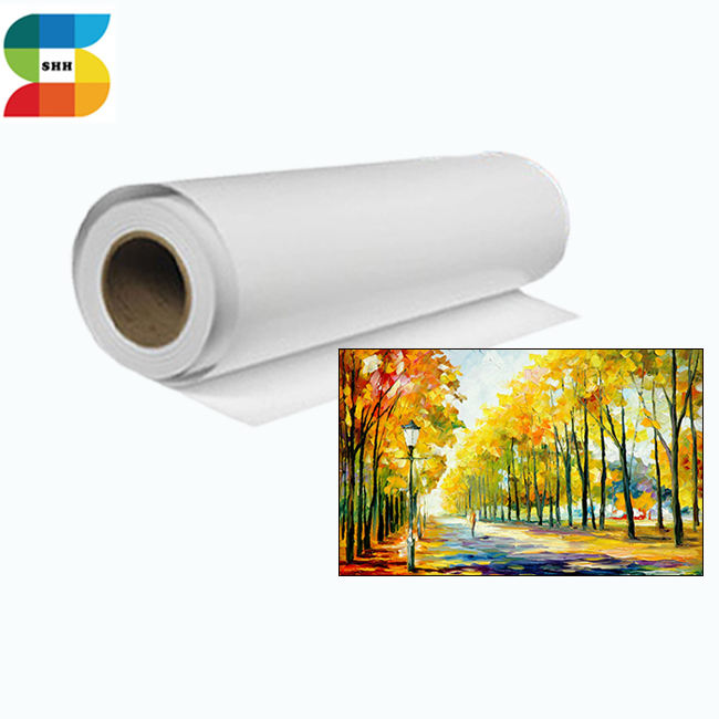 Digital impresión de lienzo <span class=keywords><strong>pinturas</strong></span> sobre lienzo rollo de tela