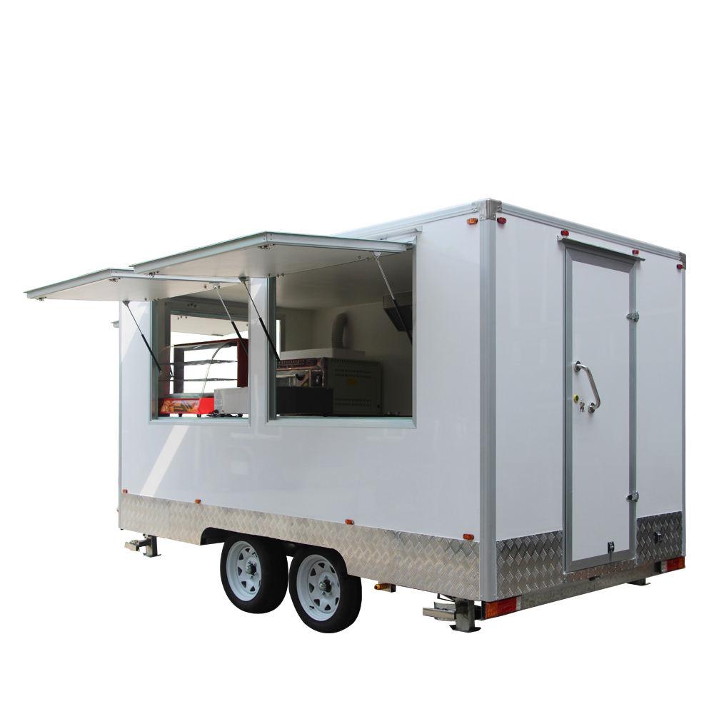 Çin gıda van/satılık hızlı gıda van/özelleştirmek boyutu donut & kahve & fried chicken gıda isıtıcı sepeti ekipmanları