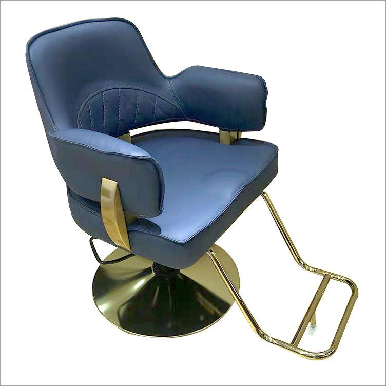 Beste preis Blau Höhe Einstellbar 1 Stuhl Barber Shop