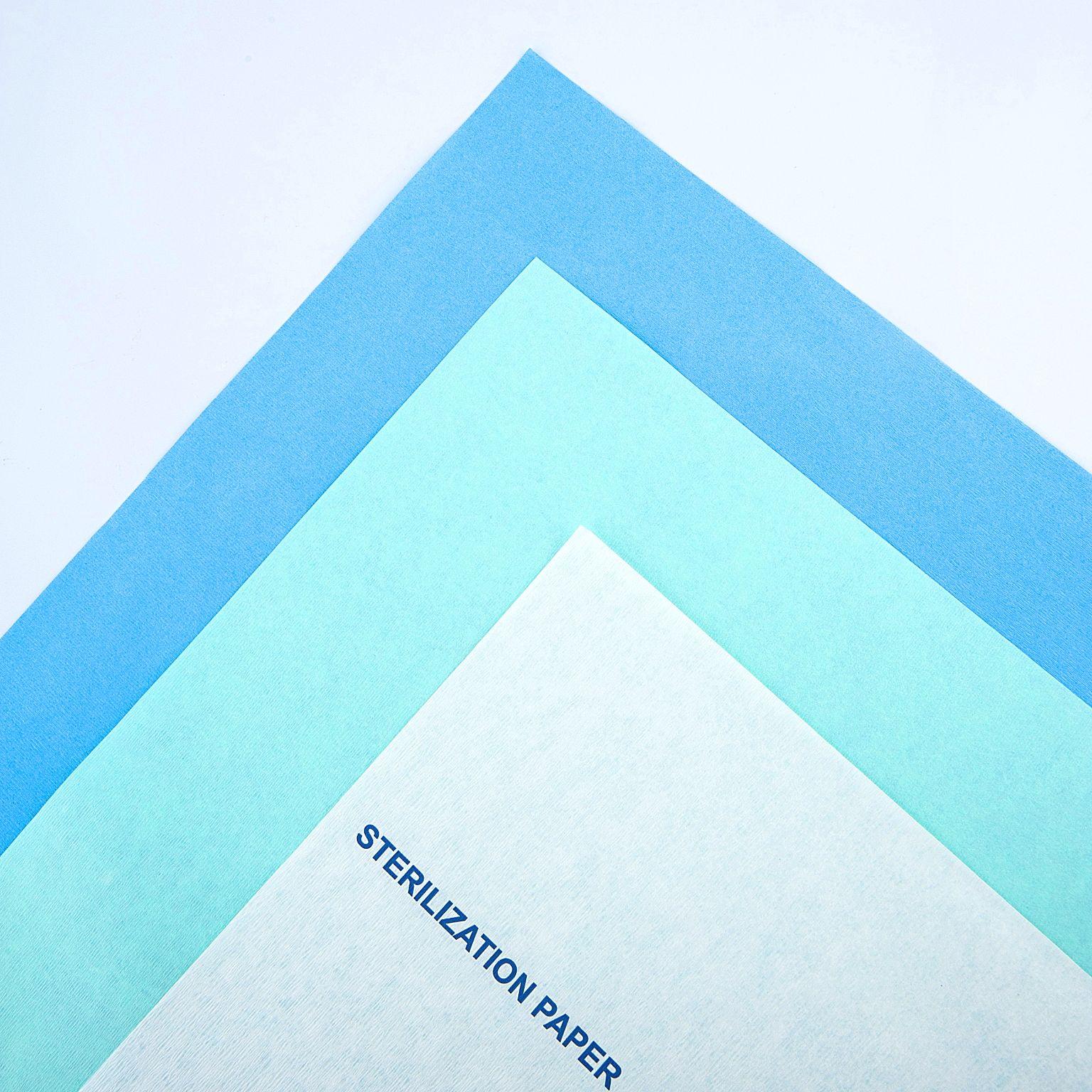 Креповая Бумага для стерилизации пара и EO