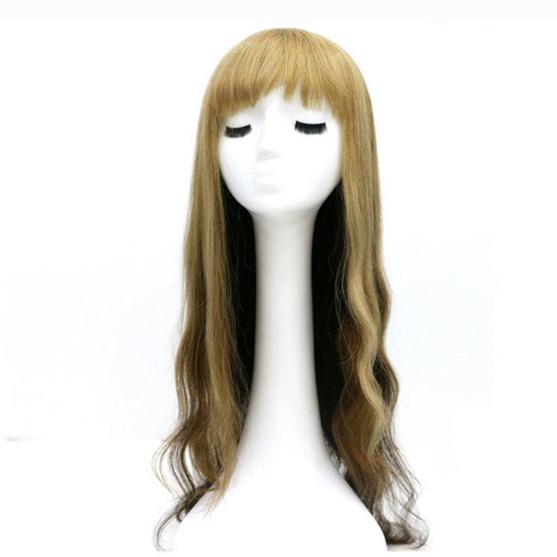 Fábrica Venta Directa natural pequeña cabeza peluca