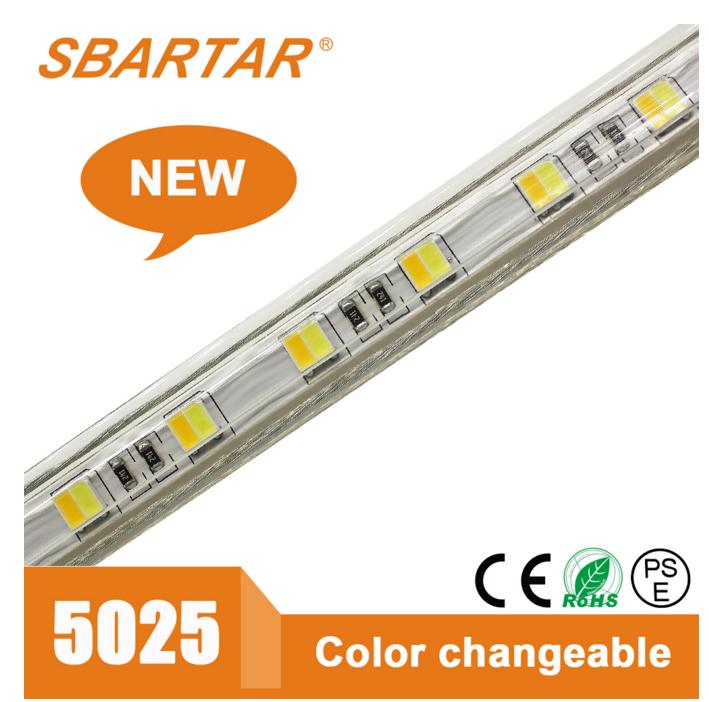 경쟁력있는 가격 5025 더블 컬러 SMD LED 스트립 <span class=keywords><strong>유통</strong></span>을위한