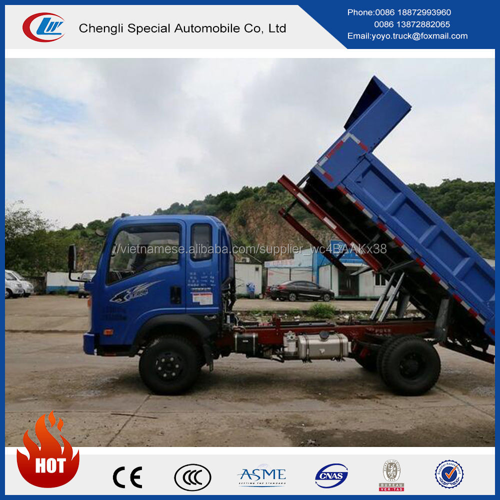 SINOTRUK <span class=keywords><strong>CDW</strong></span> 4 tons 4x2 dump xe tải với giá rẻ