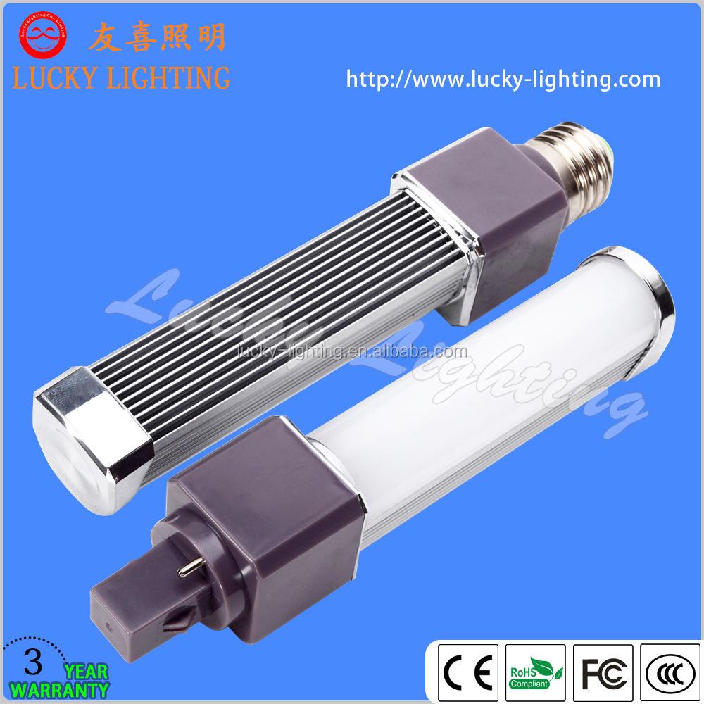 Miky cubierta de la luz <span class=keywords><strong>pl</strong></span> g24 12 W de luz <span class=keywords><strong>led</strong></span> plug giratoria de 180 degree