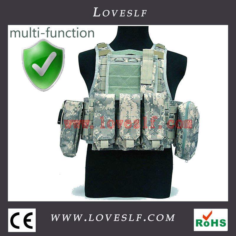 2014 loveslf equipamento militar camuflagem tactical vest
