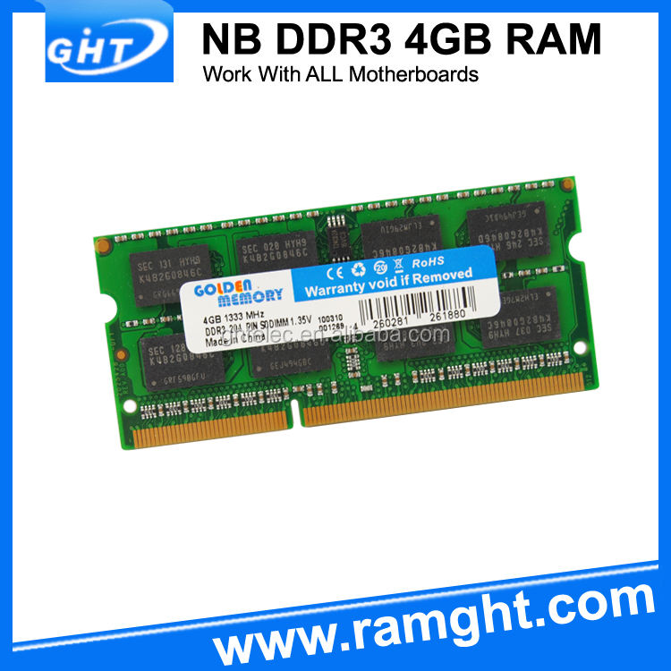 Наличии продукт ноутбук 1333 мГц PC3-10600 ОЗУ DDR3 4 ГБ