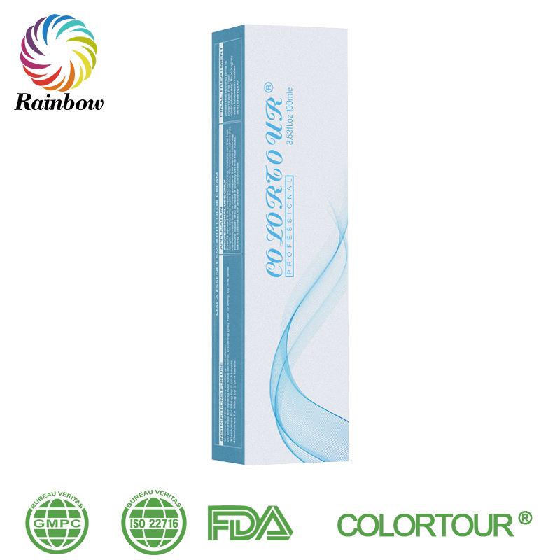 Crème de couleur de cheveux ammoniac faible permanente haut de gamme