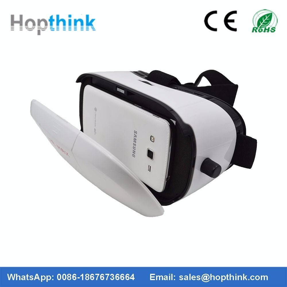 Google cartón VR auricular auriculares Virtual 3D Vidrios video gamepad controller 3D VR Gafas