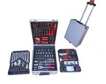New Aluminum Case Hand Tool 186pcs Trolley Germany Kraftwelle Mechanic Tool Set
