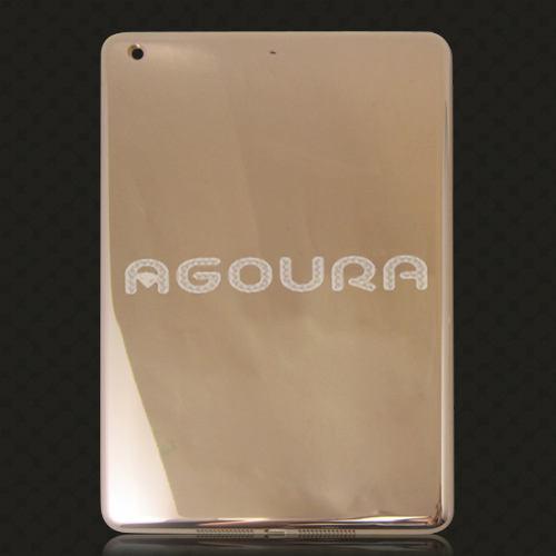 Lüks ürün 24k altın kaplama ipad için konut hava 2, altın konut arka kapak replasmanı ipad mini 3,24k altın ipad için konut