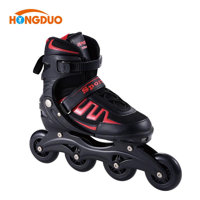子供ギフト四輪インライン中国大豆クワッド屋外積極的なローラースケートインライン女性が製造する