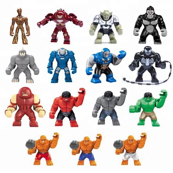 All 0182 Series of Big Building Blocks Hero Figures Super Venom from Decool Factory Directly Shipment