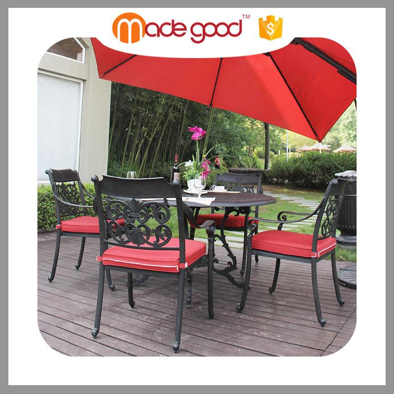 Açık patio mobilya alüminyum en sık kullanılan sandalye şirketi