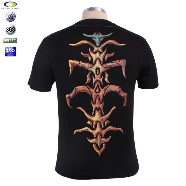 Фабрика дешевые заказ сублимации татуировки футболка