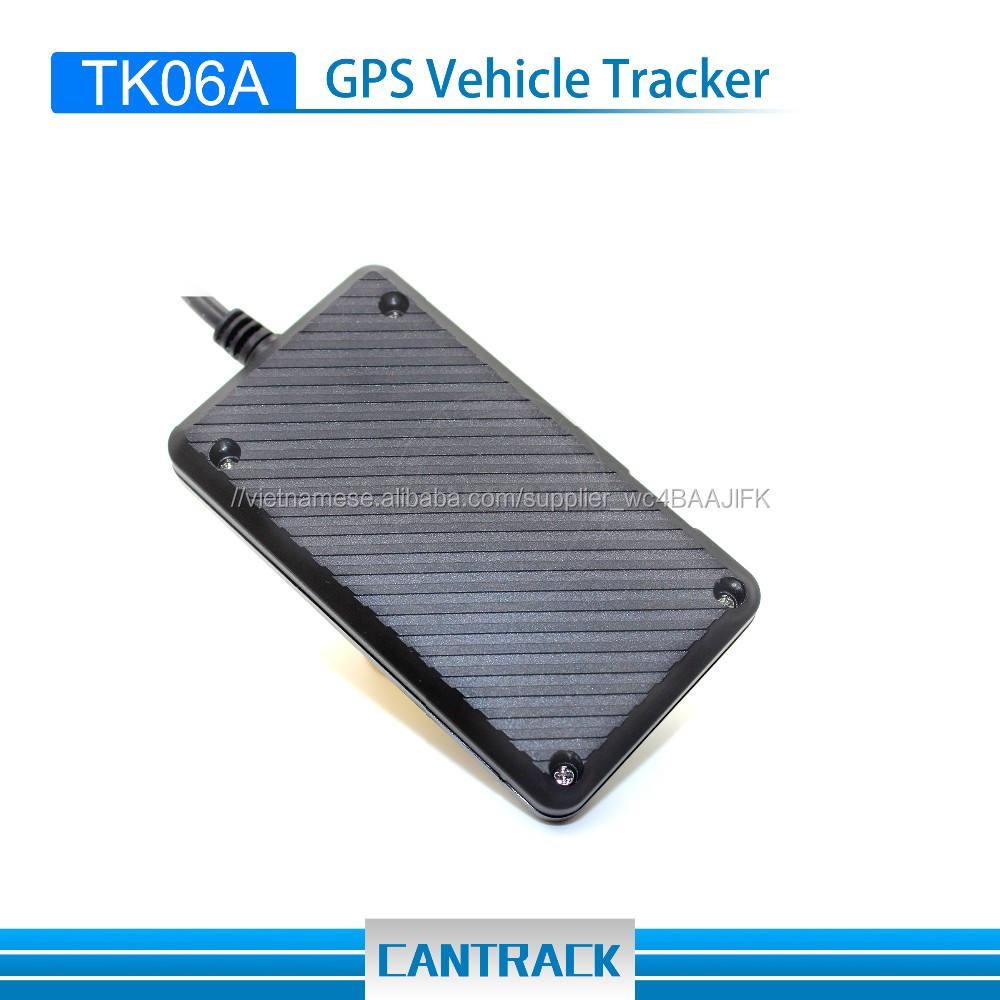 thông minh tracker máy tính xách tay gps gps tracker con chip xe Tk06A tọa độ gps locator Với ACC chống-trộm báo động