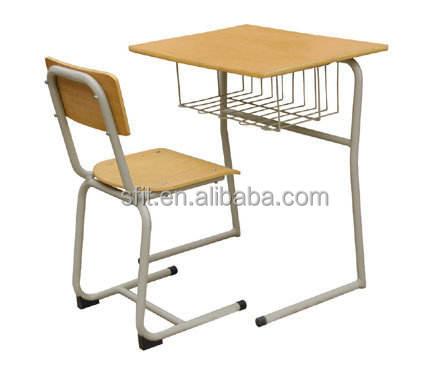 Preço de fábrica do competidor da escola com anexado cadeira para as crianças usam