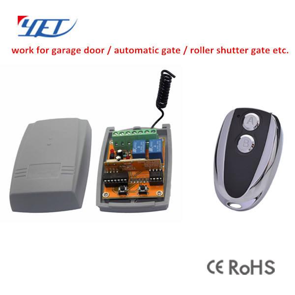 ENCORE 433 mhz <span class=keywords><strong>Sans</strong></span> <span class=keywords><strong>Fil</strong></span> RF Porte de Garage/Porte Automatique Émetteur et Récepteur
