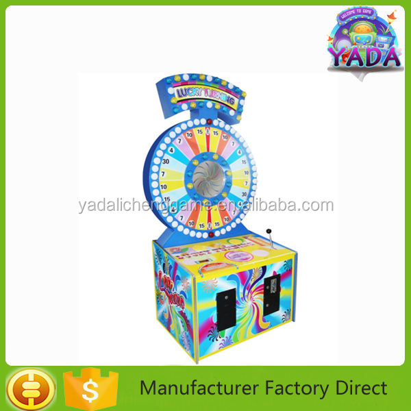 Muito querida redenção do bilhete luckey turing máquina de jogo