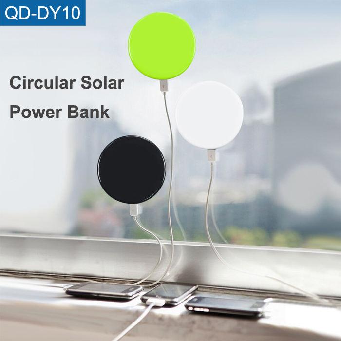 Shenzhen Electronic Gadgets 2017 Rohs Banca di Potere 5200 mah Portatile Mini Caricatore Solare