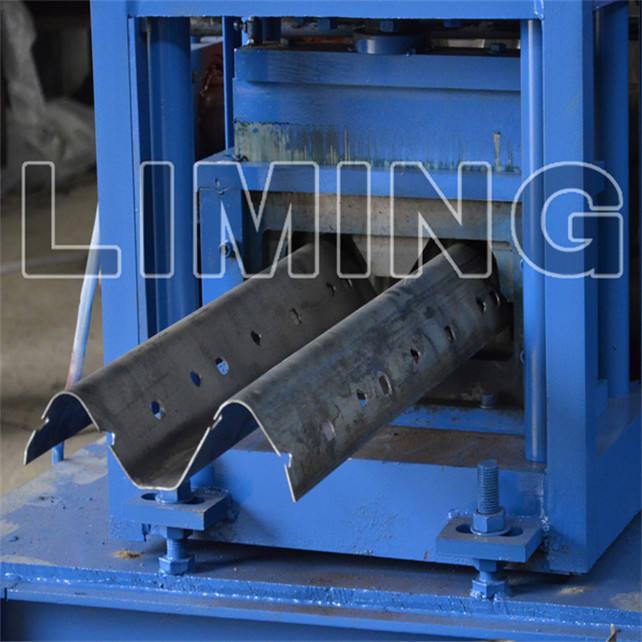 Superior galvanizado guardrail da estrada roll formando máquinas