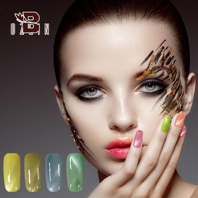 Top Chất lượng uv gel đánh bóng mèo từ mắt chất lỏng gel uv phổ biến jewelly mắt mèo Gel Nail PolishChina