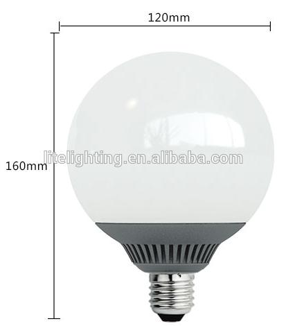 Alibba de china calidad G120 bulbo del globo reemplazar CFL