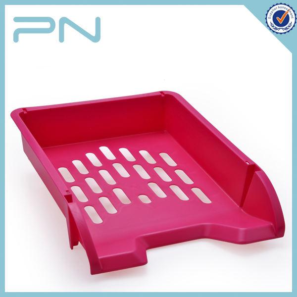 A4 caixa de arquivo de plástico com alça