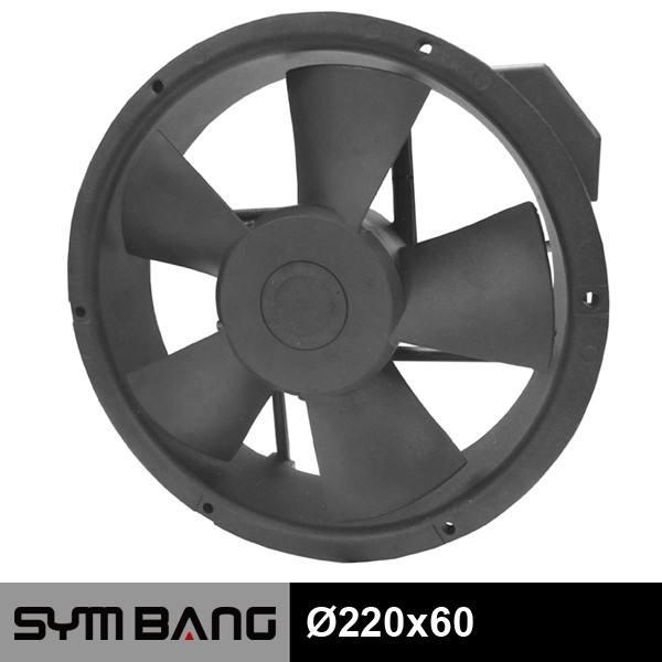 A22060-B 220 x 60 mét 500cfm mạnh mẽ trục quạt