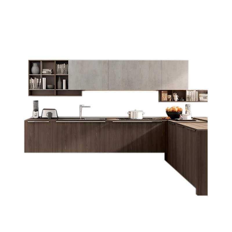 Popular projetado bonito real de madeira maciça <span class=keywords><strong>armários</strong></span> de cozinha armário de cozinha despensa