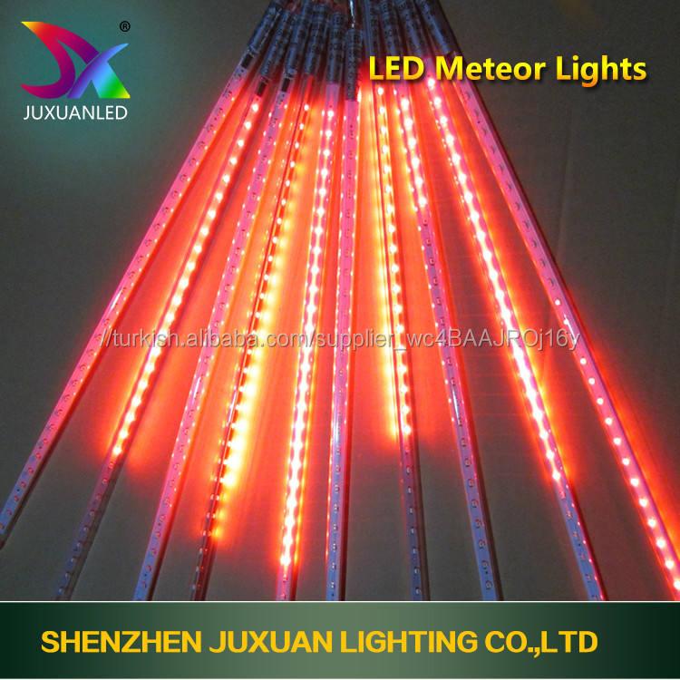 Led ağaç ışık akıllı ışık bahçe dekoratif ağaç ışık zincir led <span class=keywords><strong>Meteor</strong></span> Işıkları Tatil <span class=keywords><strong>düğün</strong></span> havuzu dekorasyon için