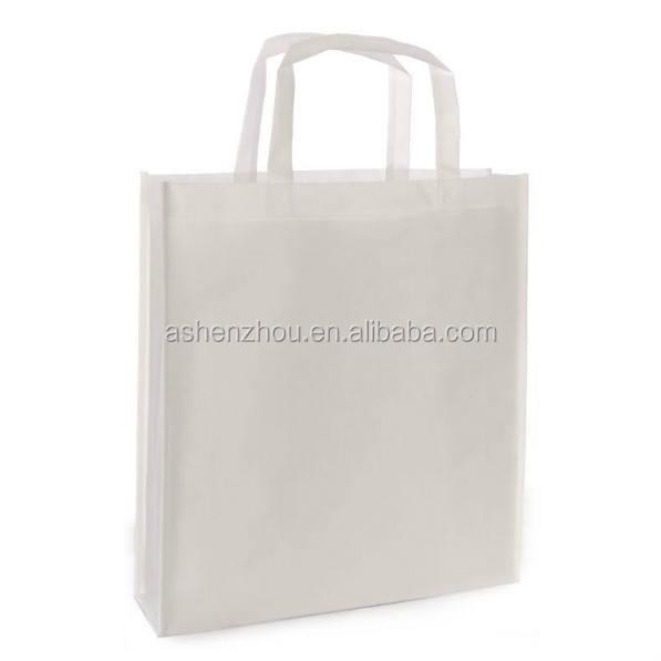 Mode super qualité pas cher personnalisé réutilisable biodégradable pliable non tissé éco sac de cour