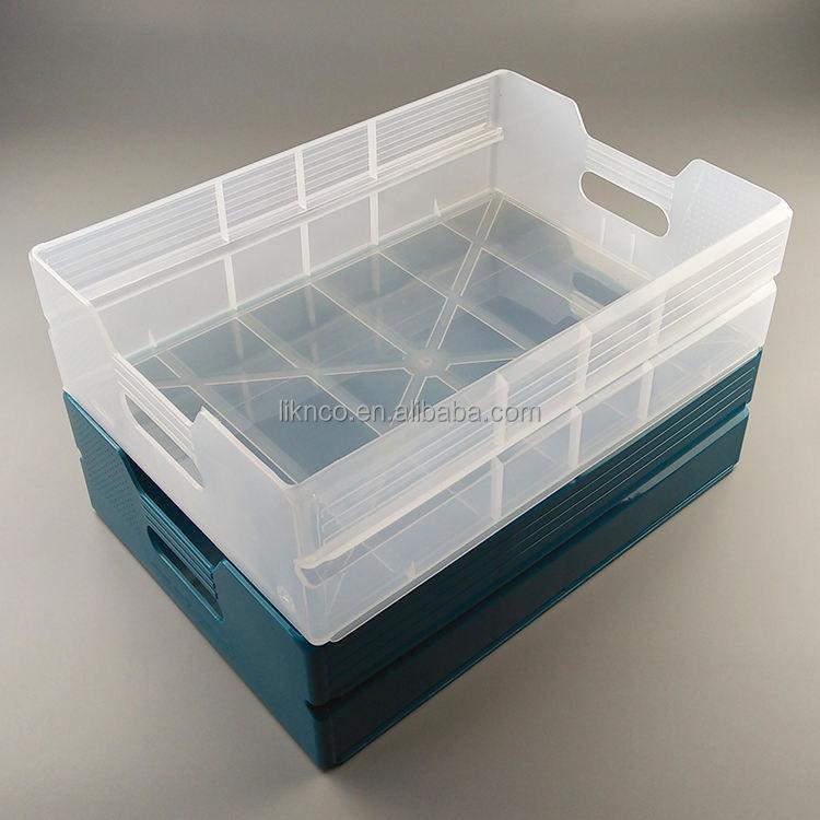 376*272*110 мм авиакомпании прозрачные большие пластиковые PP ящики