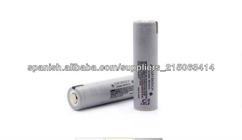 Panasonic CGR18650CH 18650 high discharge rate10A 3.6V battery