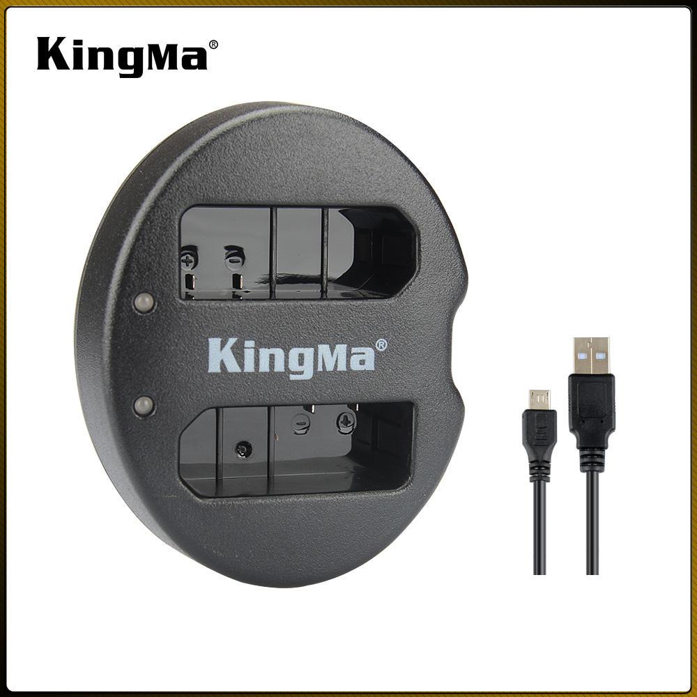 Vendita Calda KingMa BM015-ENEL14 EN-EL14 Micro Caricatore USB Dual Channel per <span class=keywords><strong>Nikon</strong></span> D3100 D3200 D5100 D5200 D5500 D3400 P7700
