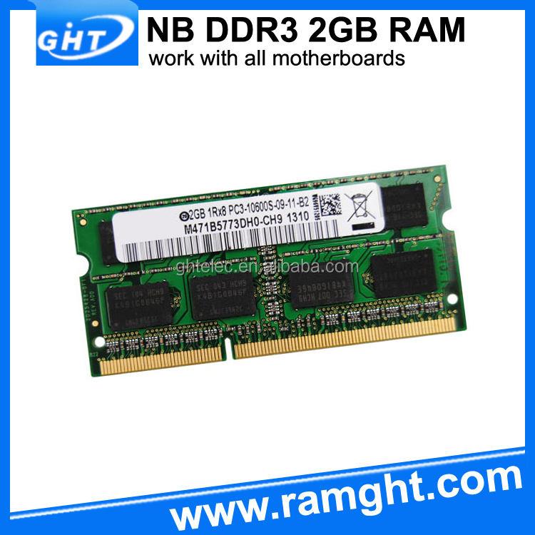 グローバルブランドロゴ1333 mhzのラップトップddr3 ddr2 3ギガバイトram