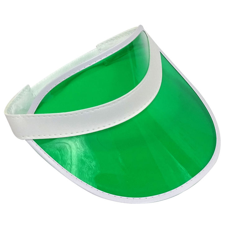Özelleştirilmiş Şeffaf Plastik Yeşil Güneşlik