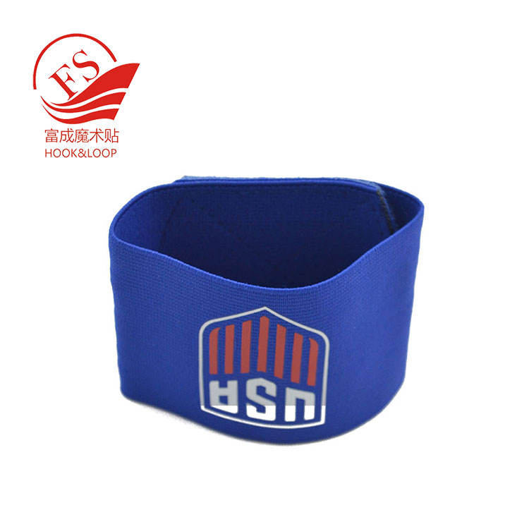 Gestrickter elastischer Schienbeinschutz für das Fußballspiel