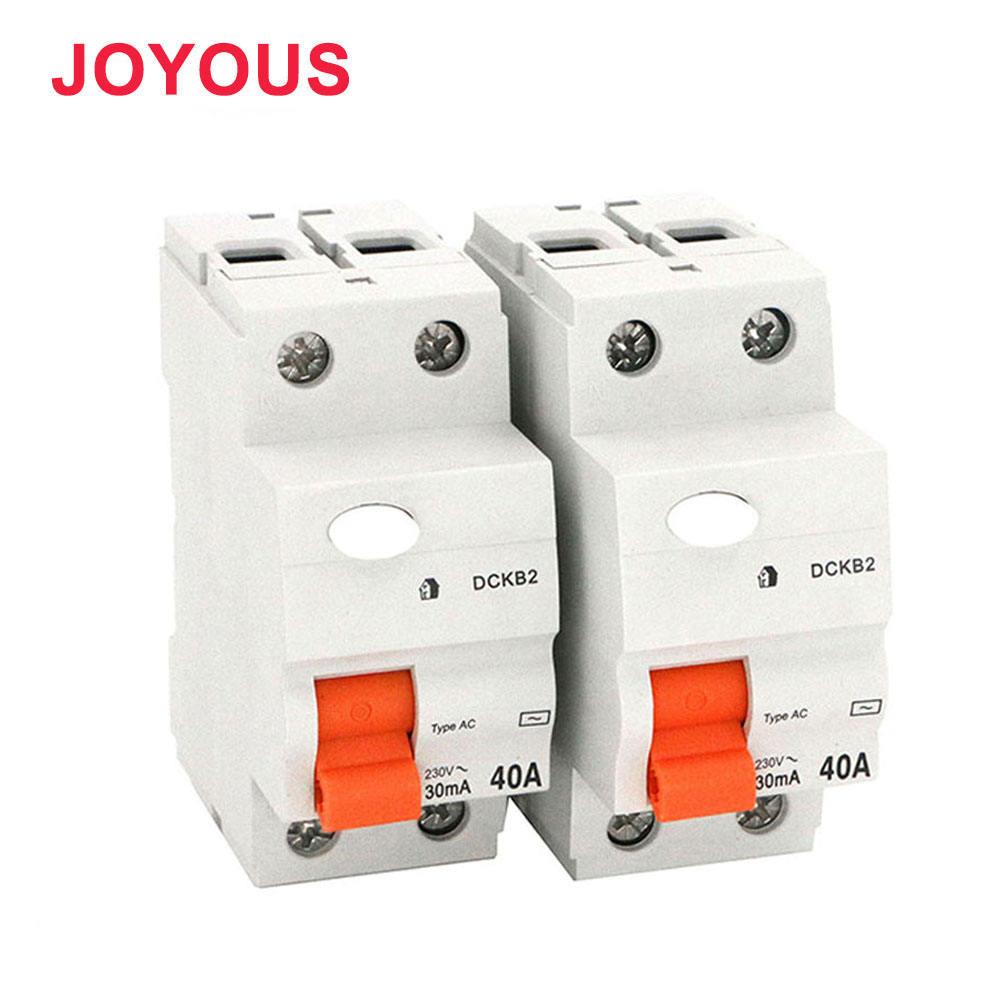 Beste marke elektrischen schalter schutzschalter fi-schutzschalter, rcd 2 p 40a 30ma id fi-schutzschalter leitungsschutzschalter