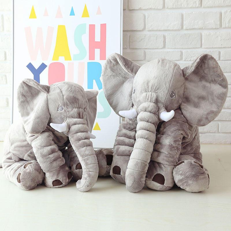 Großen ohr ausgestopften elefanten handwerk plüsch spielzeug