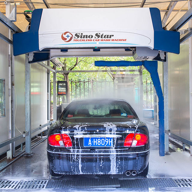 S9 Electric Steam Cleaning Industrial Wash Machine/Touchless Car Wash Machine Price