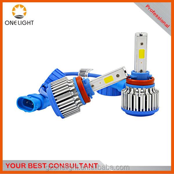 360 LED H11 lámpara llevada por batería linterna auto pequeño pedido aceptado tarjeta de crédito aceptado