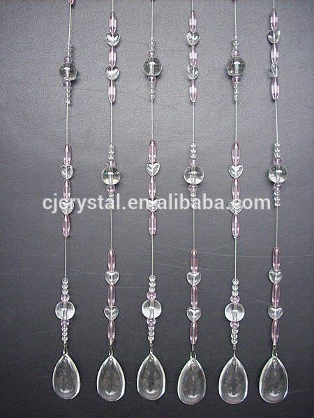 Piedras preciosas perlas de <span class=keywords><strong>china</strong></span> de fábrica de la cortina, artesanías de cristal <span class=keywords><strong>cortinas</strong></span>, <span class=keywords><strong>cortinas</strong></span>