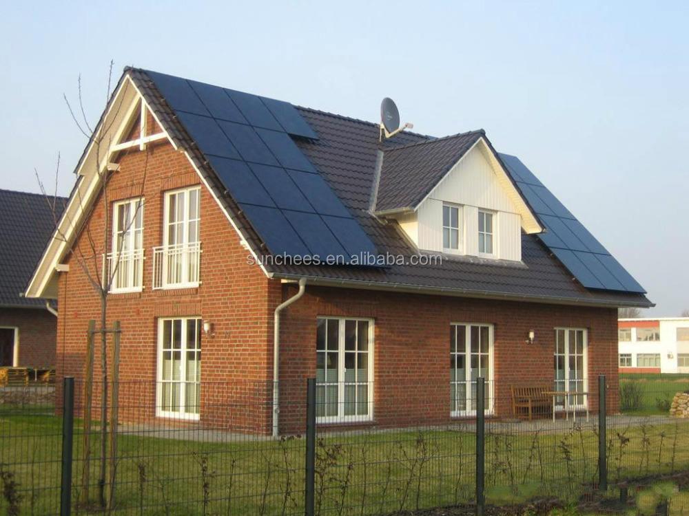 Panel solar sistema completo para la casa 2KW 3KW 5KW 6kw; fotovoltaica (célula solar sistemas