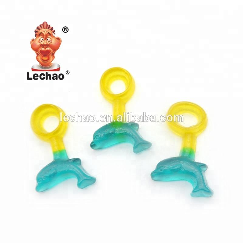 Bulk Shark Shape Gummy Candy Sea Animal Sweet Confectionery Halal soft jelly candy