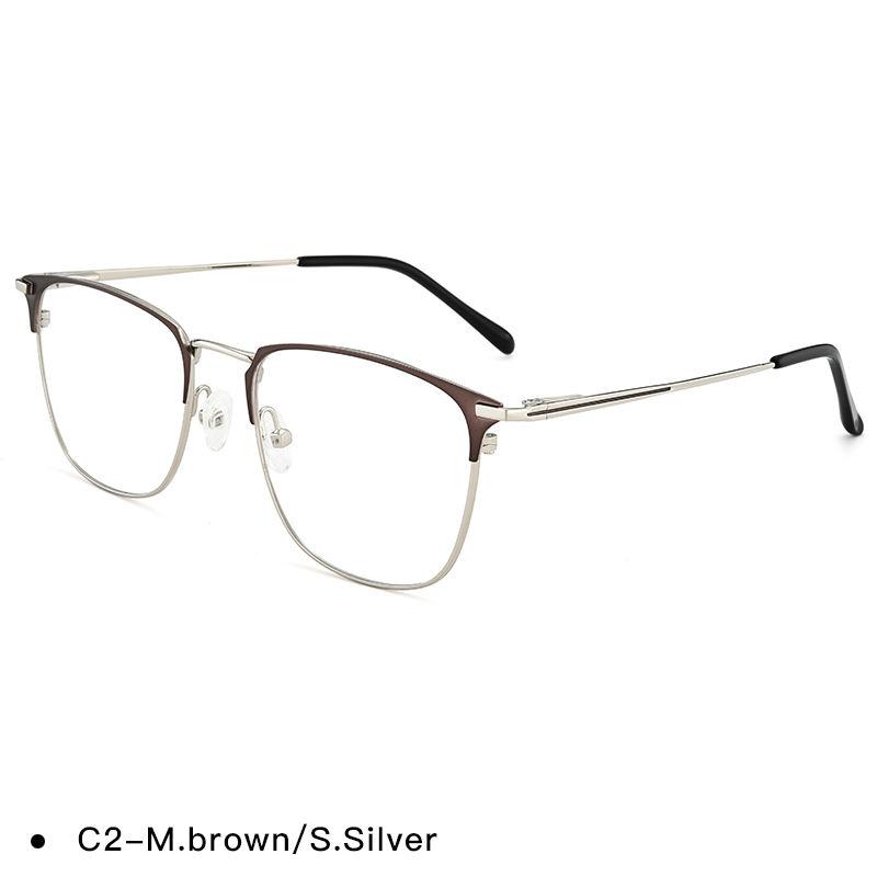 Métal Montures de lunettes à la mode lunettes cadres pour les femmes
