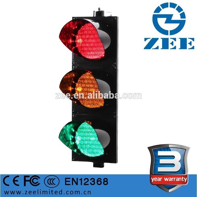 En12368 сертифицирована лучший трафика аспект 200 мм ( 8 дюймов ) RYG цвет для дорожного транспортного средства