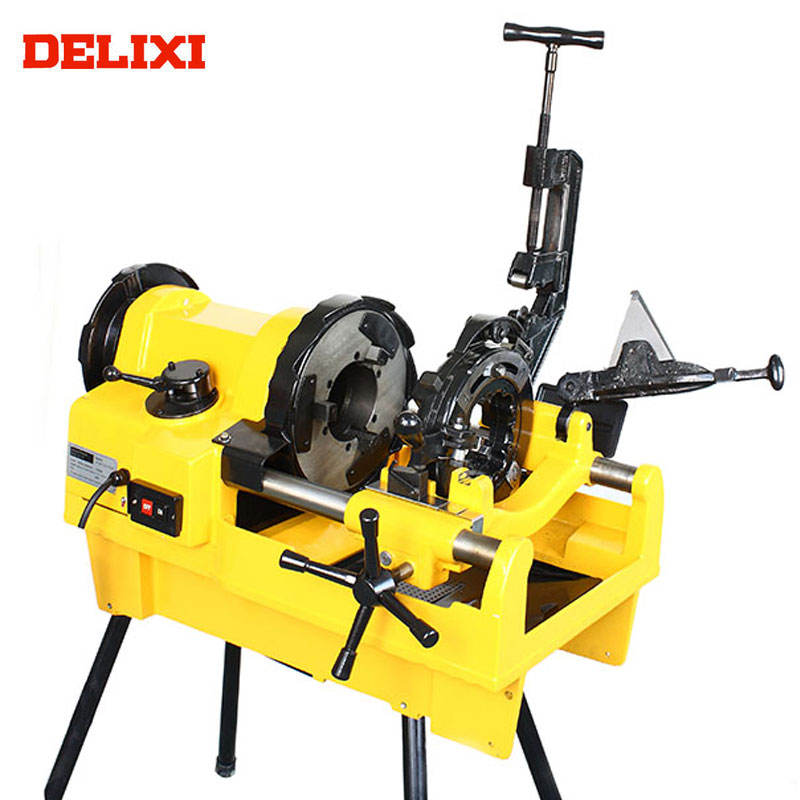 Pipe Threader DELIXI DLX100F 4 in. Quick Response Long Service Life Pipe Threading Tools