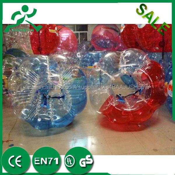 Prezzo poco costoso!!! TPU/PVC calcio zorb, palla paraurti, bolla calcio sport cupole